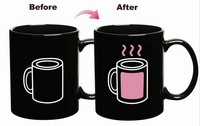 F Dragon Direct Electricity Heat Mark Cup Of Hot Coffee Color Changing Cup Color Changing Mugs