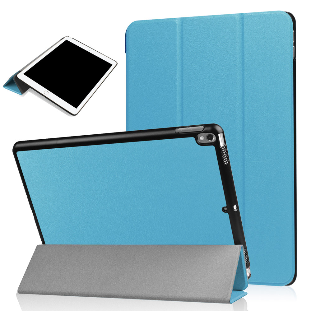 Ultra Slim Lightweight PU Leather Folio Smart Shell Stand Case Cover With Auto Wake/Sleep Feature For iPad Pro 10.5 Tablet Funda
