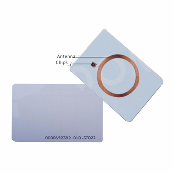 100pcs RFID Cards 125KHz EM4100 TK4100 Smart Card Proximity RFID Tag for Access control 10pcs lot rfid card 125khz tk4100 blank smart card em4100 id pvc card with uid series number for access control not copyable