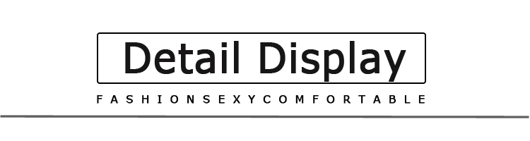 detail display文字