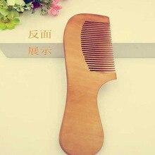 TI59 новый деревянный гребень антистатические дерева расчесывать волосы Природный деревянный гребень