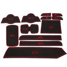 Porta Esteira Do Copo do carro Adesivos para Suzuki Alto Não-Slip Interior Almofadas De Gel de Sílica
