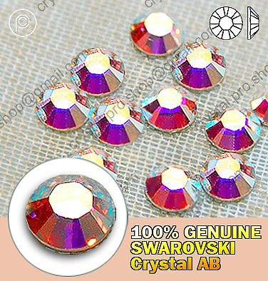 ss5 Swarovski Elements Clear AB(001AB) 144 pcs 5ss  Hotfix Iron On Crystal