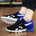 Del otoño del resorte Zapatillas de deporte de los hombres entrenadores zapatillas de lona zapatos Para Correr transpirable zapatillas de deporte para los hombres
