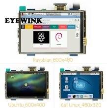 3.5 אינץ LCD HDMI USB מגע מסך אמיתי HD 1920x1080 LCD תצוגת Py עבור Raspberri 3 דגם B/כתום Pi (לשחק משחק וידאו) MPI3508