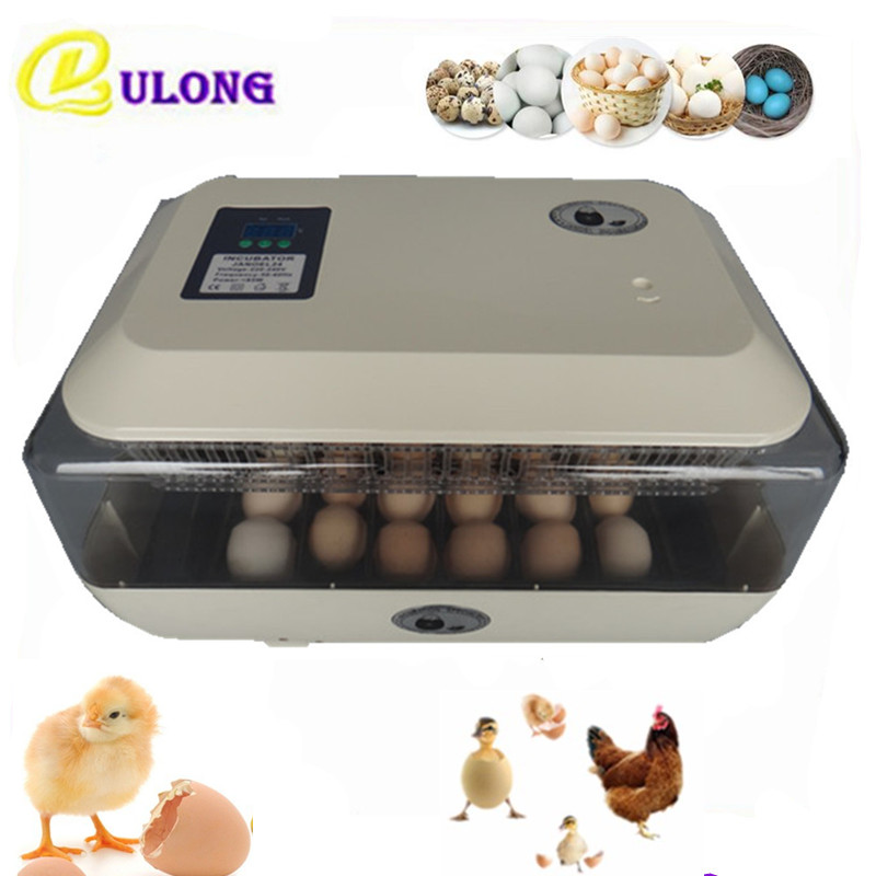 Full-automatic mini eggs incubator for chicken duck quail egg hatching machine best price chick brooder best price 5pin cable for outdoor printer
