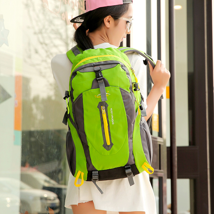ФОТО Waterproof Climbing Bags Lightweight Backpack Outdoor Sport Camping Hiking Rucksack for Women Men