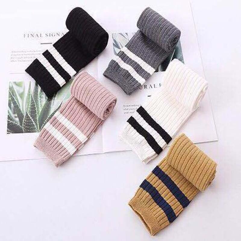2019 Neuer Stil Herbst Neue Baumwolle Warme Mädchen Zwei Bars Flut Version Student Socke Kinder Baby Socken Für Mädchen Kleidung