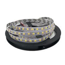 Гибкий Светодиодные ленты светильник 5 м 2835 SMD DC 12V 60/120/180/240 светодиодный s/M светодиодный ленточный светильник ярче, чем SMD 3528 Светодиодный лента шнура светильник