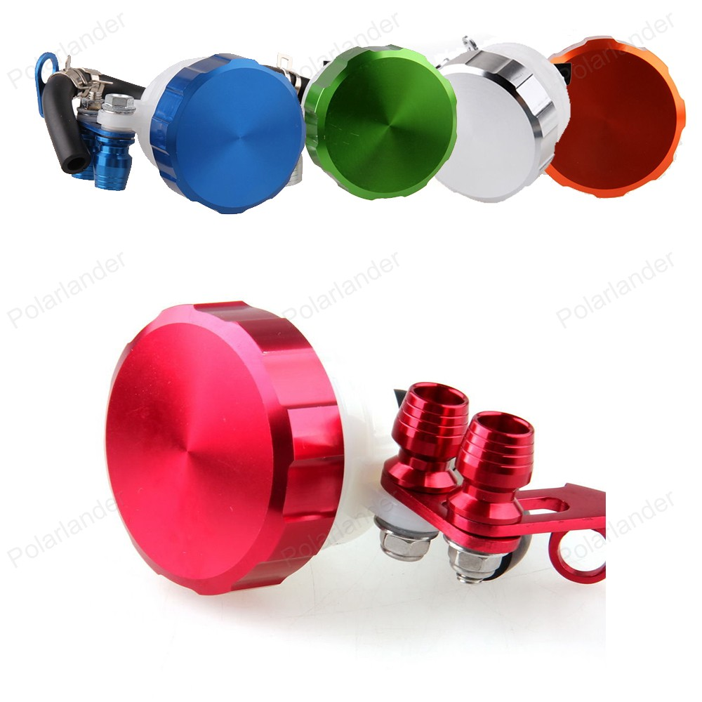 Tank Oil Cup Cylinder Motorcycle Brake Fluid Reservoir Clutch for A/prilia D/ucati H/onda K/awasaki S/uzuki Y/amaha