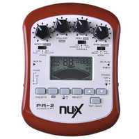 NUX PA-2 Portable Acoustic Guitar Effects Processor High Quality Free Shipping