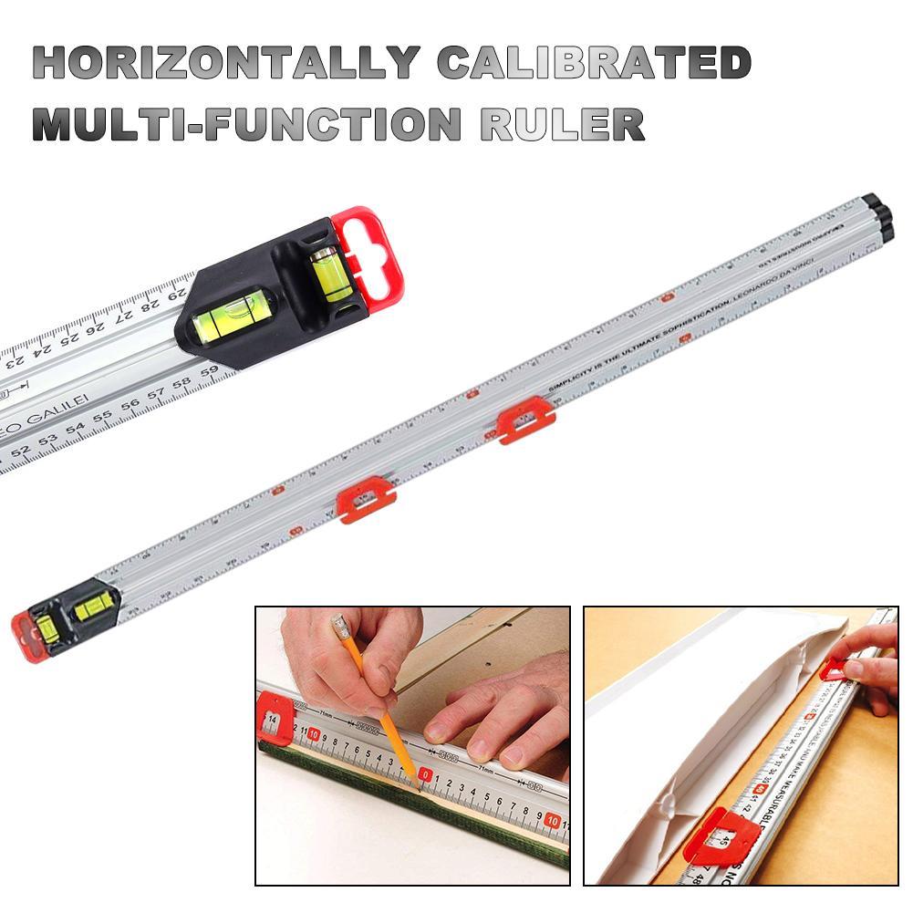 Multi-functional Ruler Of Horizontal Calibration 60CM Construction Tools