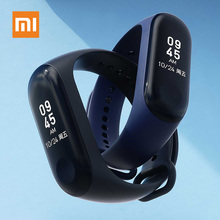 Xiaomi Original Mi Band 3 Smart Wristband Fitness Tracker Waterproof Heart Rate Monitors OLED Display Touchpad for Android IOS original xiaomi mi band 2 smart fitness bracelet watch wristband miband oled touchpad sleep monitor heart rate mi band2