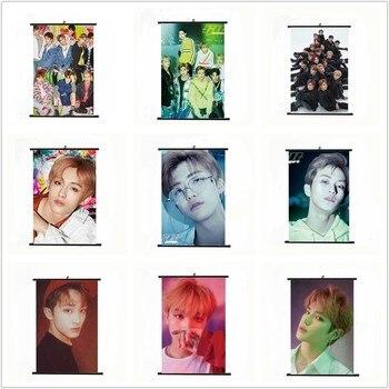 Kpop NCT U 127 2018 Dream Empathy Mini Wall Scroll Poster Fabric
