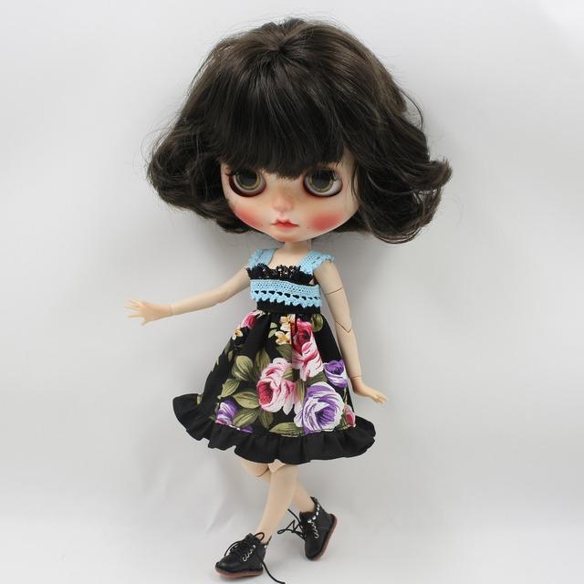 Neo Blythe Doll Fantasy Flower Lace Dress