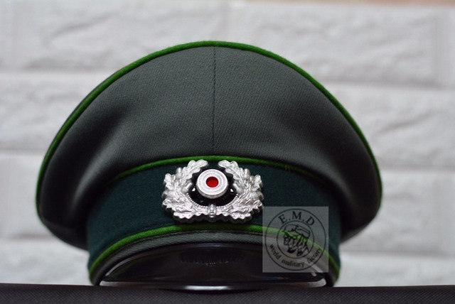 2096a237 WW2 German WH-M36 Cap officer .Precision reproduction .full size.Twill wool  fabric, Catapult
