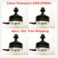 Cobra Motor CP2205-2500, 2500Kv,Free Shipping 4pcs/Set  Brushless Motor for Mini Drone Racing, FPV racing, Mini quad racing