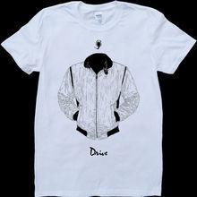 Drive Ryan Gosling Jacket White, Custom Made T-Shirt Fashion Classic Unique gift все цены