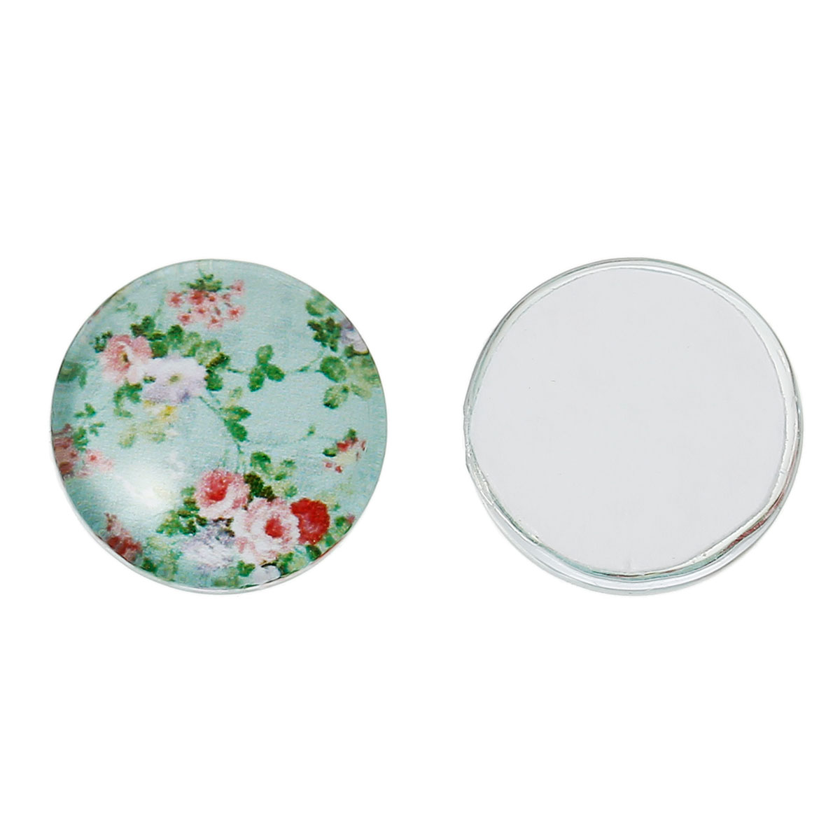 """3//8/"""" Wholesale Lots Craft Clear Round Glass Dome Seals Embellishment 10mm"""