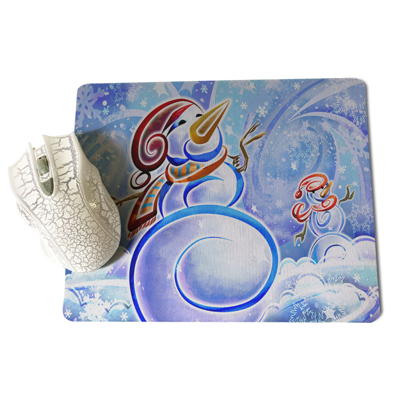 Babaite Winter snow Office Mice Gamer Soft Mouse Pad Size for 25x29cm Gaming Mousepads