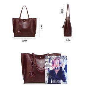Image 4 - Designer Handbags Soft Leather Big Women Bags HandBags Famous Brands Top handle Bags Female PU Tote Shoulder Bags for Women 2020