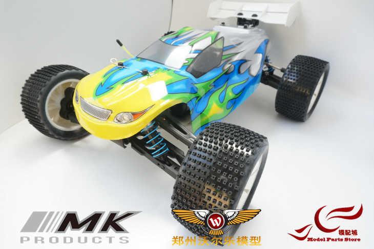 MK 1/8 coche eléctrico sin escobillas Motor Hobbywing 100A ESC envío gratis