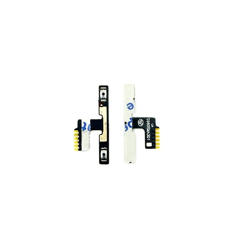 Original For Lenovo Vibe X S960 Volume Button Key Switch Flex Cable Ribbon Replacement Spare Parts