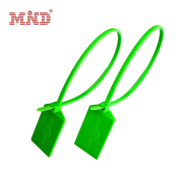 Waterproof Plastic Traceability UHF RFID Ribbon Seal Tag Zip Tie Cable Label Tag For Packaging Tracking