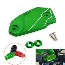 лучшая цена For Kawasaki Z 800  ER6N ER6F VERSYS 650 ninja 650 2013-2016 Motorcycle fluid reservoir cap bike front brake fluid reservoir cap