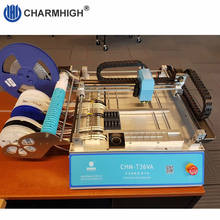 Charmhigh CHM-T36VA Smt Pick And Place Machine, Externe Pc, Closed-Loop Control, 2 Camera 'S, chmt36va 0402-5050, Sop, Qfn...