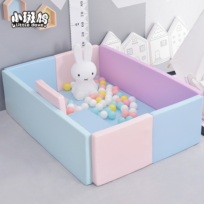 Baby Ocean Pool Grab Fence Playpens Indoor Soft  Baby Crawl Pad Thickened Toddler Game Fence Crawl Parent-child Communication,