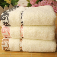 34*75cm Face   Towel   Super Soft Cotton   Towel   Home Use Bath Face Hand Terry   Towel   3D