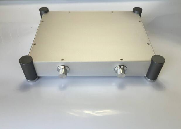 amp case Aluminum Chassis amplifier Preamplifier tube case Aluminum chassis (W342mm H84mm D430mm )