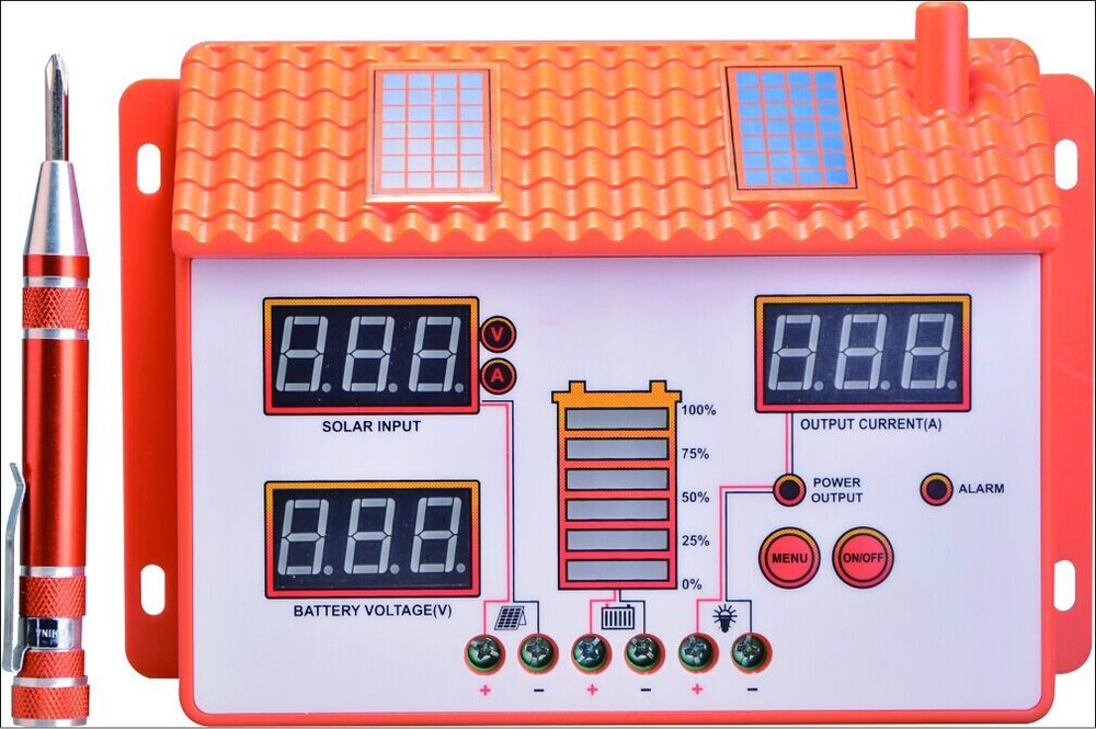 NV-SD4024 40A Solar Controller 12V/24V Auto PV Panel Battery Charge Controller Solar System PWM Solar Regulator Max 960W Input