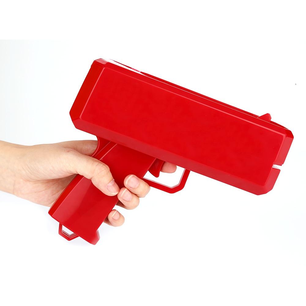 2017 Hot Cash Money Gun Toy Funny New Money Gun with Original Box and Paper Money