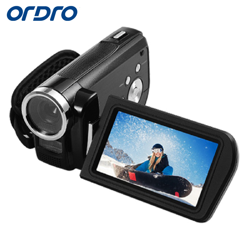 Ordro Official Store Ordro Portable Digital Video Camera HDV-Z3 1080P FHD 24.0MP 16X Digital Zoom Camcorder with 3.0 Inches LCD Screen HDMI Output