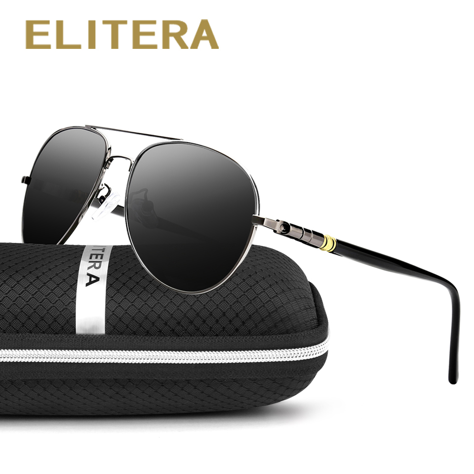 ELITERA New Arrivals Men Loved Fashion Polarized marca gafas de sol Gafas de sol de cuatro colores para elegir 209 al por mayor