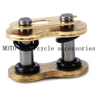 4Pcs/Pack O Ring Connecting Chain Master Link for Motorcycle Dirt Bike Motorcycle Master Connecting Link Set