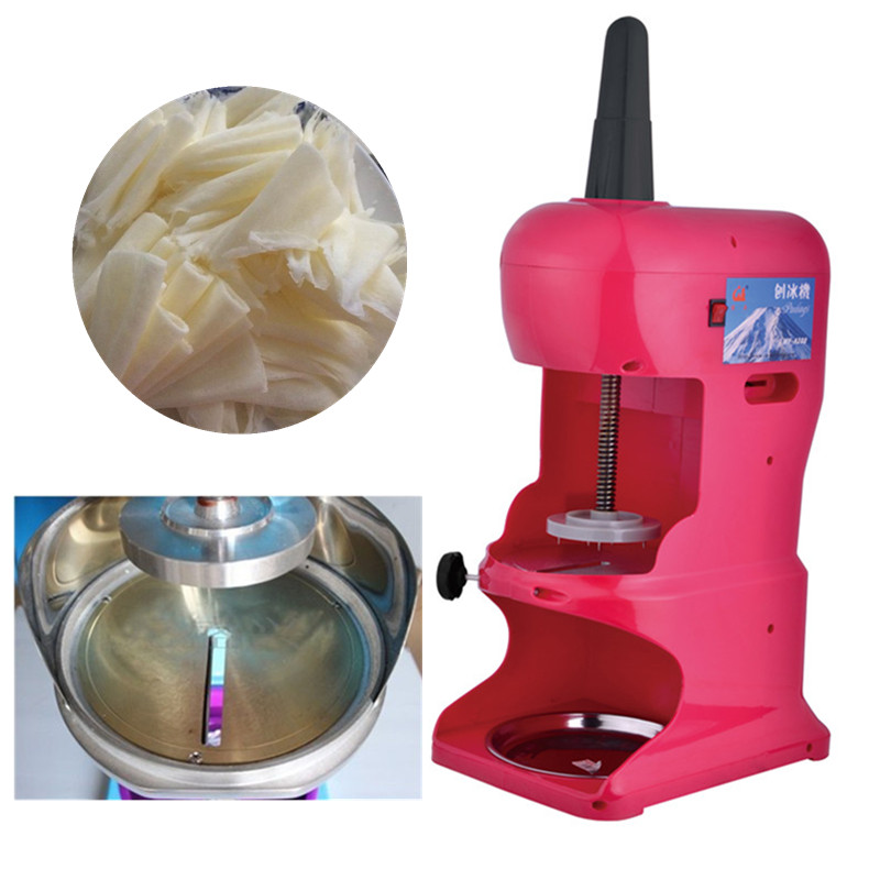 Electronic ice crusher block shaving machine commercial snow cone maker commercial ice shaver snow cone maker ice crusher block shaving machine