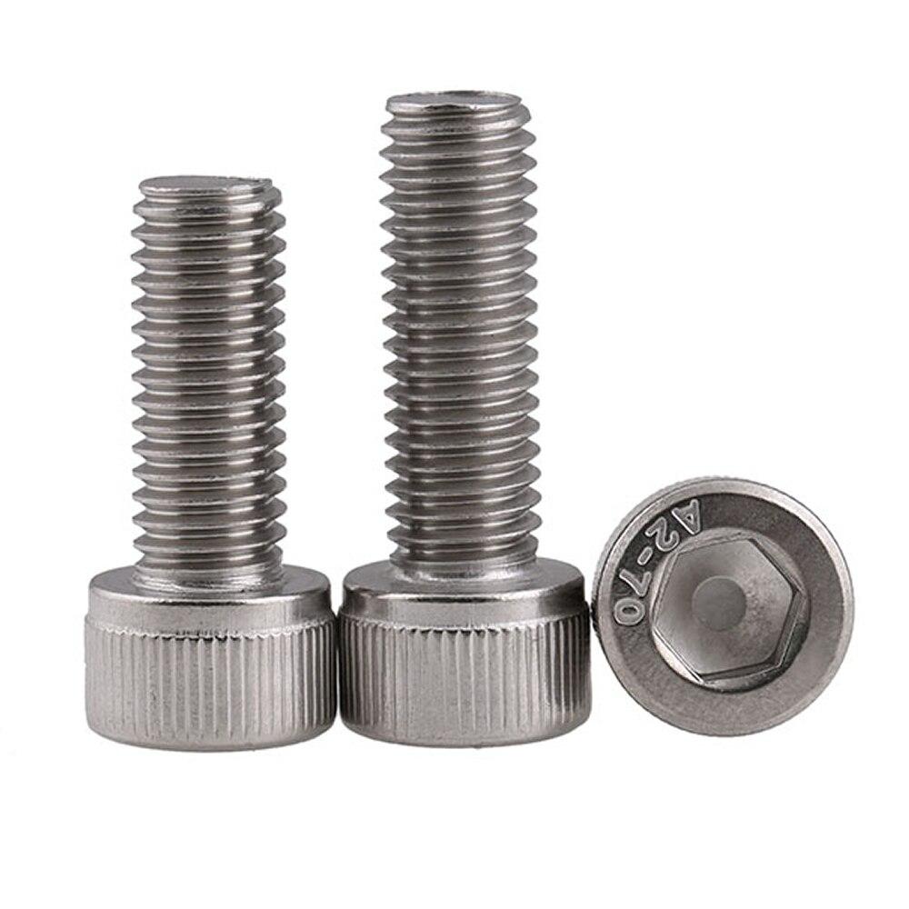 X 5MM Socket Head Socket Cap Screw; Stainless Steel; Pack of 10 2MM M2