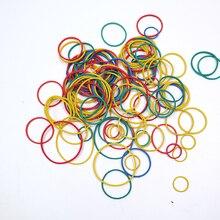 Высококачественная цветная эластичная резинка 13-38 мм для школы, офиса, дома, промышленная Резиновая лента, упаковочная лента для канцелярских принадлежностей