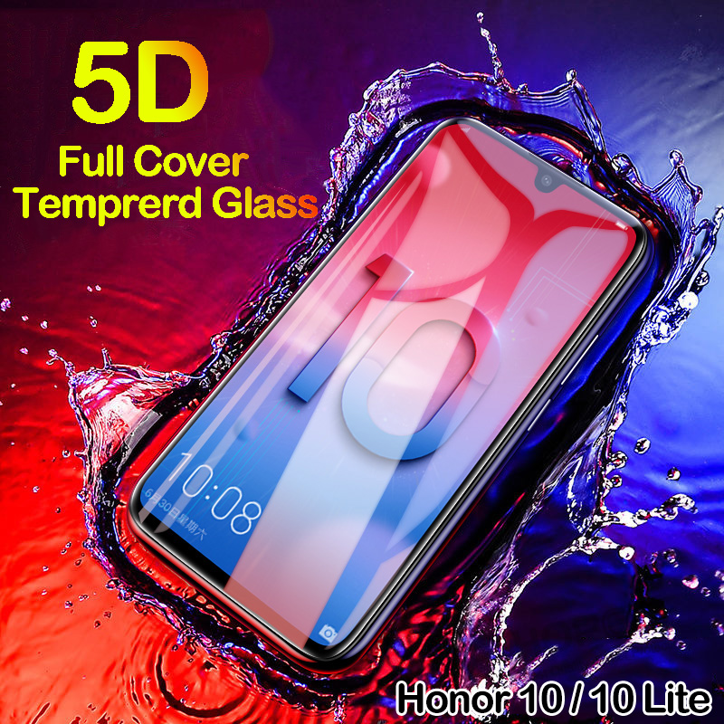 5D Tempered Glass for Huawei Honor 10 Lite Screen Protector on Honor 10 20 Lite i Safety Glass for Huawei Honor 10i 10 Light 20i