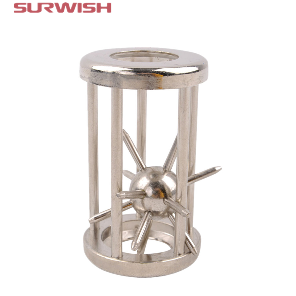Surwish Metal Puzzle IQ Game for Children Adults