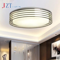 T Modern Sample Circular Ceiling Light 28W Acrylic Sweet LED Indoor Lamps For Bedroom Home Diameter