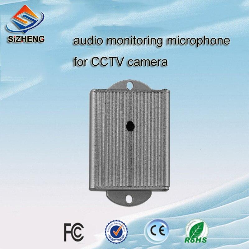 SIZHENG SIZ 130 anti aufruhr CCTV mikrofon audio überwachung video überwachung sicherheitssystem für abfrage zimmer-in CCTV-Mikrofon aus Sicherheit und Schutz bei