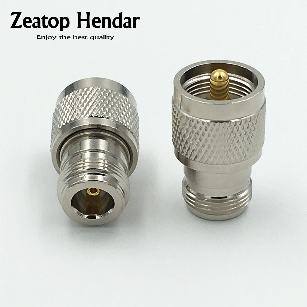 Straight N Male to UHF SO-239 Female Jack Coax Adapter Connector High Quality US