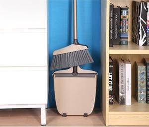 Image 5 - Dustpan  Lobby Broom Combo 3 Foot Overall Height Ergonomic Dustpan and Telescoping Handle