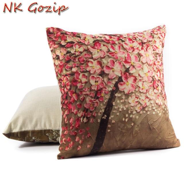 Etonnant NK Gozip Cotton Linen Waist Throw Pillow Case Sofa Home Decorative Gift  Cushion Cover For Pillow