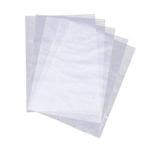 300 sztuk zmniejszyć torebki foliowe Wrap przezroczyste termokurczliwe torby do laminowania owijarki do mydła ręcznie robione butelki bomby do kąpieli