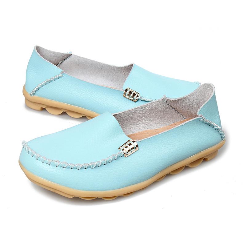 AH912 (46) women's loafers shoe